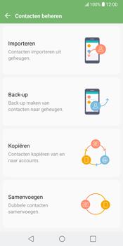 LG V30 (LG-H930) - Contacten en data - Contacten kopiëren van toestel naar SIM - Stap 7
