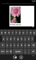 Nokia Lumia 925 - MMS - Afbeeldingen verzenden - Stap 11