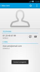 Bouygues Telecom Bs 471 - Contact, Appels, SMS/MMS - Ajouter un contact - Étape 12