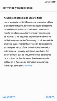 Huawei Mate 9 - Primeros pasos - Activar el equipo - Paso 6