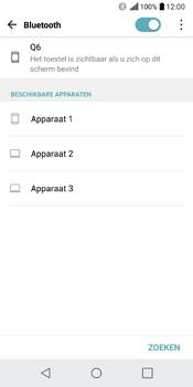 LG Q6 - WiFi en Bluetooth - Bluetooth koppelen - Stap 6