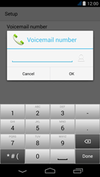 Acer Liquid Jade - Voicemail - Manual configuration - Step 9