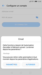 Huawei P9 Lite - Android Nougat - E-mail - 032c. Email wizard - Outlook - Étape 6