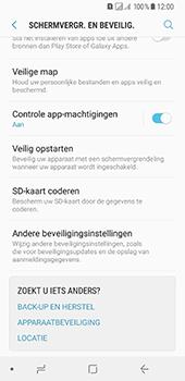 Samsung Galaxy A8 (2018) (SM-A530F) - Beveiliging en ouderlijk toezicht - Hoe wijzig ik mijn SIM PIN-code - Stap 5