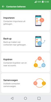 LG Q6 (LG M700n) - Contacten en data - Contacten kopiëren van toestel naar SIM - Stap 7