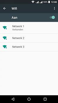 Acer Liquid Zest 4G Plus DualSim - Wi-Fi - Verbinding maken met Wi-Fi - Stap 8