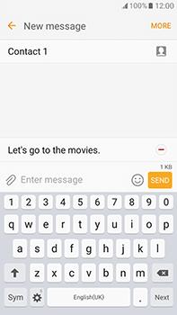 Samsung Galaxy J7 (2016) (J710) - Mms - Sending a picture message - Step 14