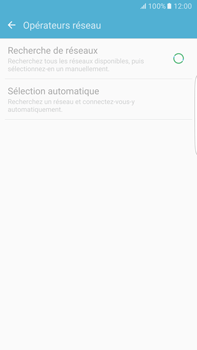 Samsung Samsung G928 Galaxy S6 Edge + (Android M) - Réseau - Sélection manuelle du réseau - Étape 7