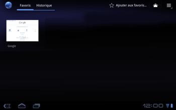 Huawei Mediapad S7-301u - Internet - Navigation sur internet - Étape 8
