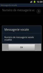 Samsung I9100 Galaxy S II - Messagerie vocale - configuration manuelle - Étape 9