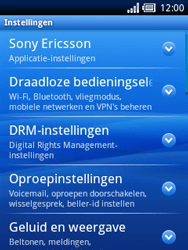 Sony Ericsson Xperia X10 Mini - Internet - Handmatig instellen - Stap 4