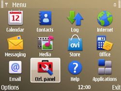 Nokia E72 - Voicemail - Manual configuration - Step 3