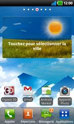 LG P920 Optimus 3D Speed - Paramètres - Reçus par SMS - Étape 3