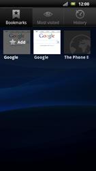Sony Ericsson Xperia Neo - Internet - Internet browsing - Step 9