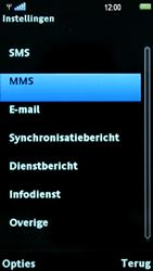 Sony Ericsson U5i Vivaz - MMS - probleem met ontvangen - Stap 7