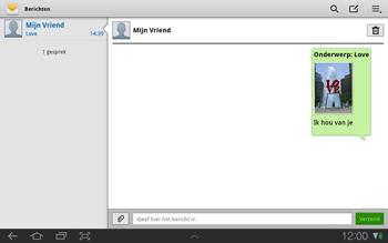 Samsung P7500 Galaxy Tab 10-1 - MMS - hoe te versturen - Stap 12