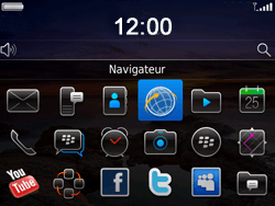BlackBerry 9780 Bold - Internet - Navigation sur internet - Étape 2