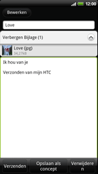 HTC Z715e Sensation XE - E-mail - hoe te versturen - Stap 11