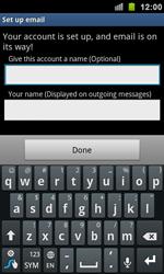 Samsung I9100 Galaxy S II - E-mail - Manual configuration - Step 12