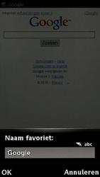 Sony Ericsson U5i Vivaz - Internet - Hoe te internetten - Stap 7