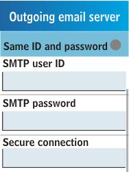 Samsung C3300K - E-mail - Manual configuration - Step 18