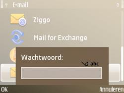 Nokia E72 - E-mail - Handmatig instellen - Stap 10
