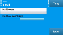 Nokia N97 - E-mail - Handmatig instellen - Stap 7