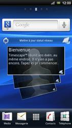Sony Ericsson Xperia Play - Internet - Activer ou désactiver - Étape 1
