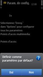 Nokia C7-00 - MMS - configuration automatique - Étape 8
