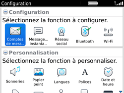 BlackBerry 9780 Bold - E-mail - Configuration manuelle - Étape 9