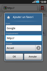 Samsung S5660 Galaxy Gio - Internet - navigation sur Internet - Étape 5