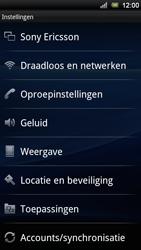 Sony Ericsson ST18i Xperia Ray - MMS - probleem met ontvangen - Stap 6