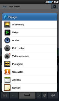 Samsung P1000 Galaxy Tab - MMS - Afbeeldingen verzenden - Stap 7