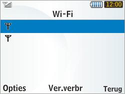 Samsung S3350 Chat 335 - Wifi - handmatig instellen - Stap 7