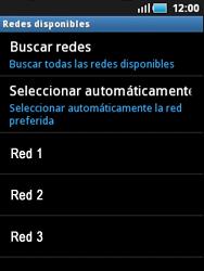 Samsung S5570 Galaxy Mini - Red - Seleccionar una red - Paso 7
