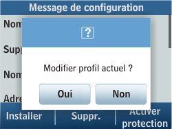Samsung C3500 Chat 350 - Internet - Configuration automatique - Étape 5