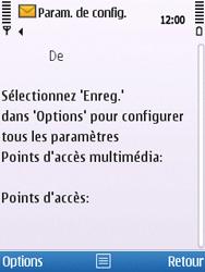Nokia C5-00 - MMS - Configuration automatique - Étape 6