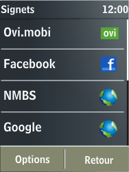Nokia X3-02 - Internet - navigation sur Internet - Étape 12