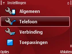 Nokia E63 - Buitenland - Bellen, sms en internet - Stap 5