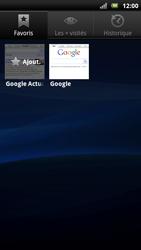 Sony Ericsson Xperia Neo - Internet - navigation sur Internet - Étape 8
