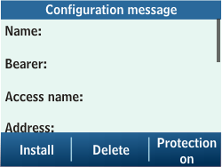 Samsung C3500 Chat 350 - Internet - Automatic configuration - Step 4