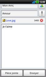 LG P970 Optimus Black - E-mail - envoyer un e-mail - Étape 10