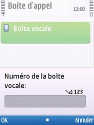 Nokia C5-00 - Messagerie vocale - configuration manuelle - Étape 6