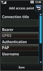 LG GD510 Pop - Internet - Manual configuration - Step 6