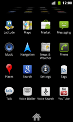 Google Nexus S - Internet - Enable or disable - Step 3