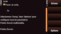 Nokia N97 Mini - MMS - configuration automatique - Étape 8
