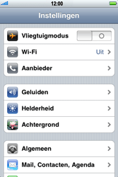 Apple iPhone 3G - Buitenland - Bellen, sms en internet - Stap 4