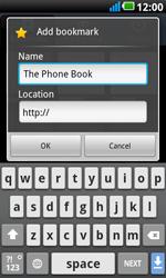 LG P990 Optimus 2X Speed - Internet - Internet browsing - Step 8