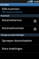 Samsung S5830 Galaxy Ace - Voicemail - handmatig instellen - Stap 5