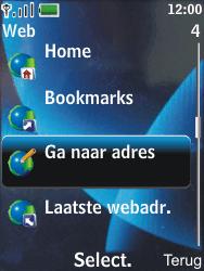 Nokia 6600 slide - Internet - Hoe te internetten - Stap 3